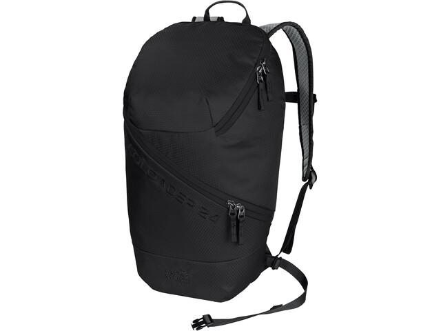 Jack Wolfskin Ecoloader 24 Pack, noir